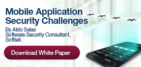 Download white paper: Mobile Application Security Challenges